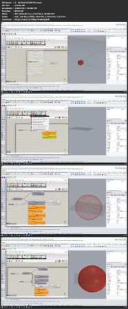 Download Geodesic Dome Creation with Rhino Grasshopper and