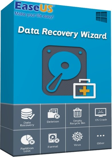 EaseUS Data Recovery Wizard 13.0 Multilingual
