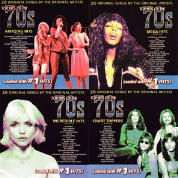 VA - Top Hits Of The 70's [4CD Set] (2003)