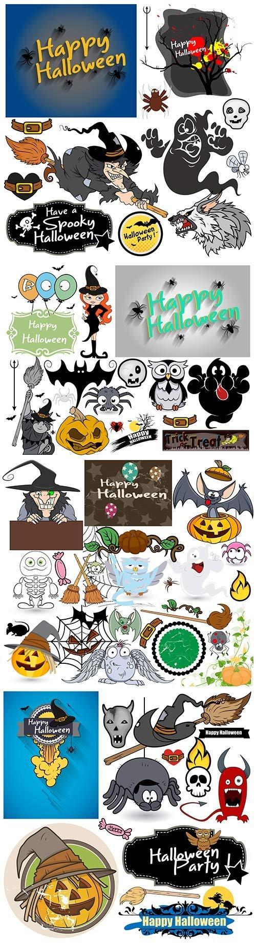 100 Pictures Cartoon Characters download halloween cartoon characters vector illustration