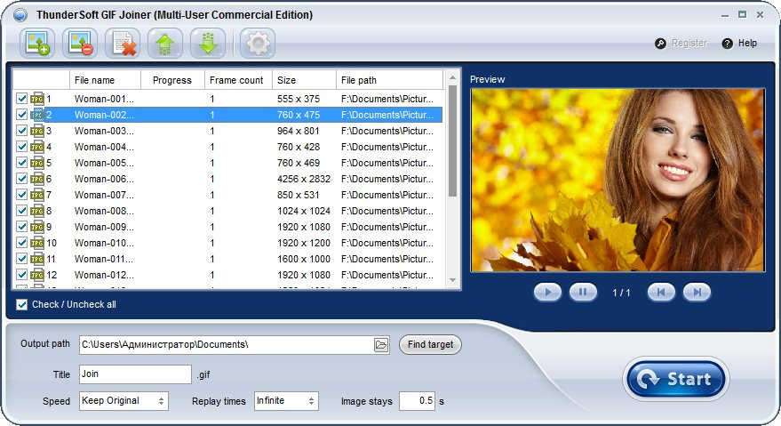 ThunderSoft GIF Joiner 2.7.0