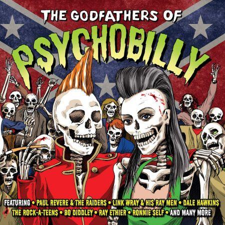 VA - The Godfathers Of Psychobilly (2CD, 2019)