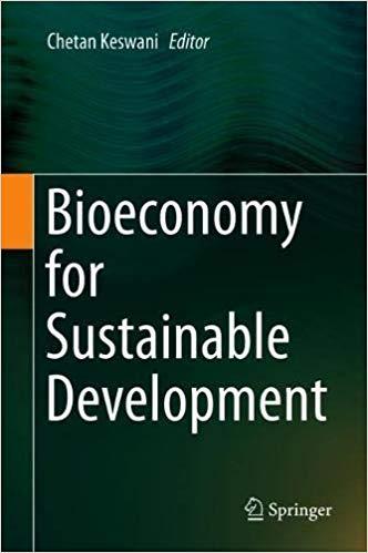 Bioeconomy for Sustainable Development