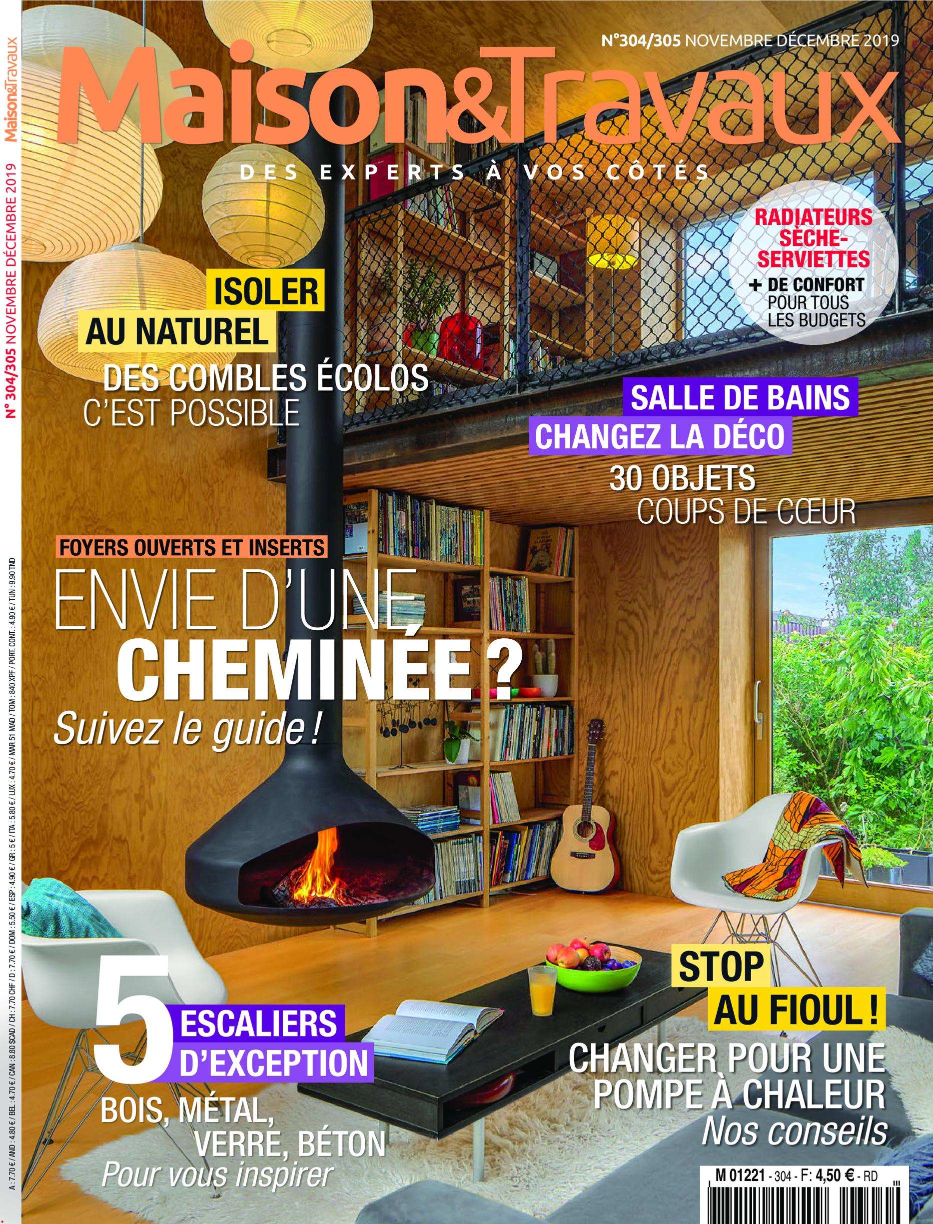 Maison & Travaux Magazine download maison & travaux - novembre/decembre 2019 - softarchive