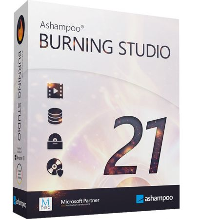 Ashampoo Burning Studio 21.0.0.33 Multilingual
