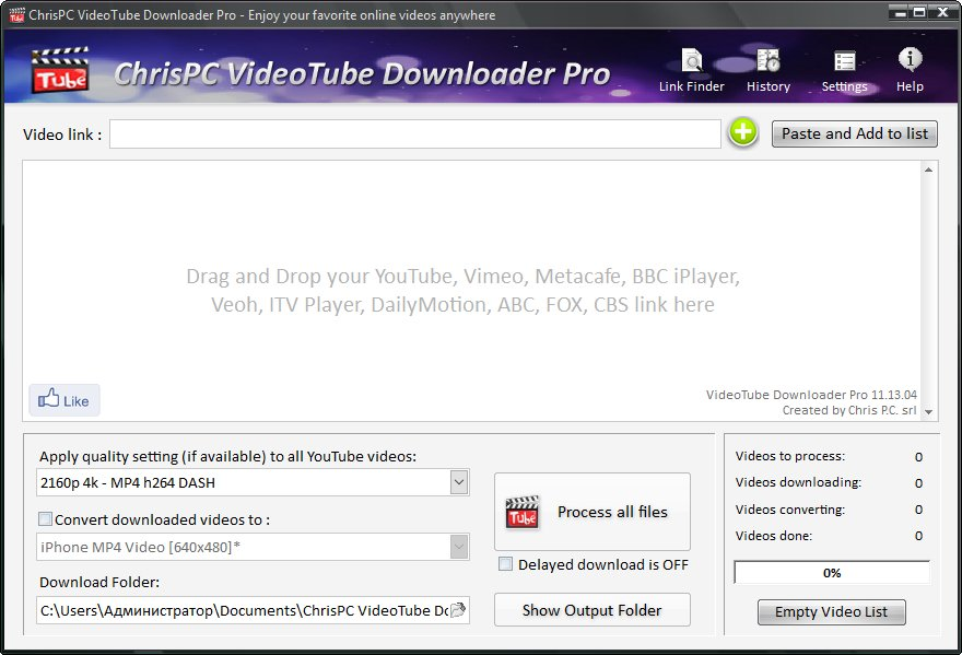 ChrisPC VideoTube Downloader Pro 11.13.04 [Multilenguaje] [Dos Servidores] 2XIzlQ6mD9AiDncnLLSfGOsIKAR1o8Jq