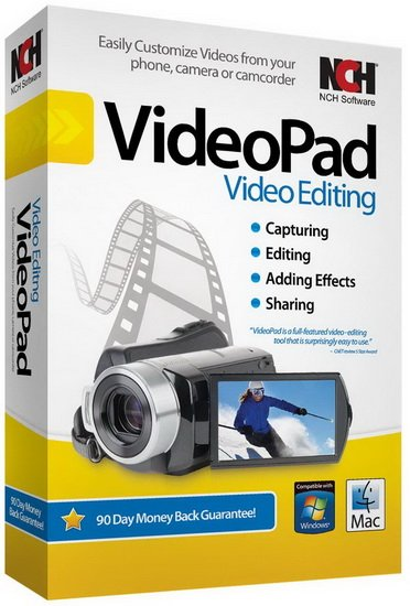 NCH VideoPad Video Editor Professional 8.00 Beta