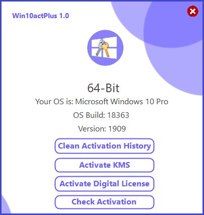 Win10actPlus 1.0 [Portable] [Activa permanente windows 10] [Ingles]  HTGv8t1dK92HqUChr1l0bogRieVmYr0g