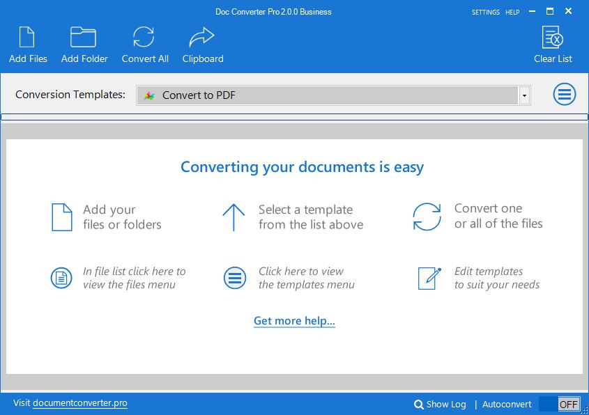 Doc Converter Pro 2.0.0 Business