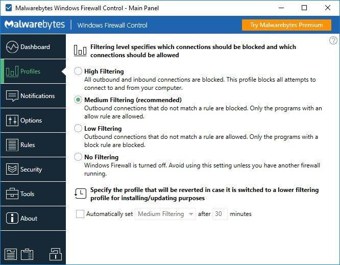 Windows Firewall Control 6.1.0.0 Multilingual