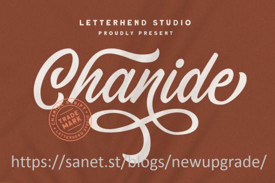 Chanide Script