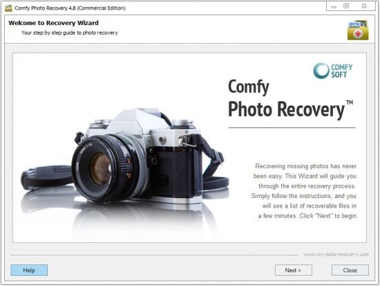 Comfy Photo Recovery 4.9 Multilingual