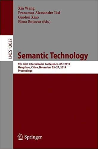Semantic Technology: 9th Joint International Conference, JIST 2019, Hangzhou, China, November 25-27, 2019, Proceedings