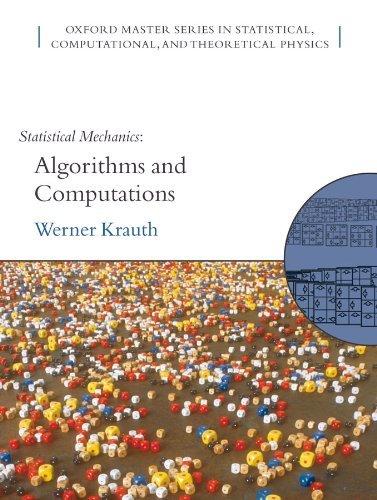 Statistical Mechanics: Algorithms and Computations (PDF)