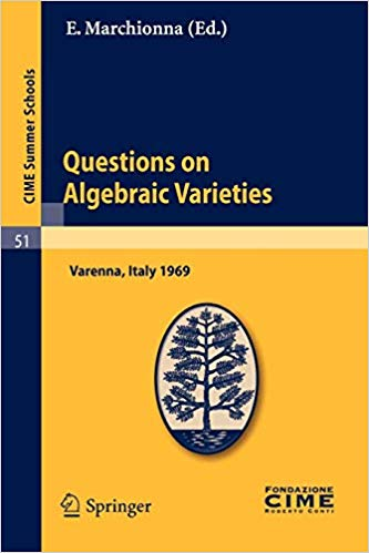 Questions on Algebraic Varieties: Lectures given at a Summer School of the Centro Internazionale Matematico Estivo (C.I.