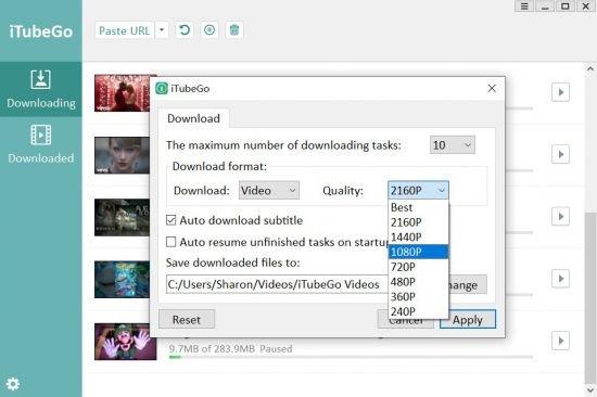 iTubeGo YouTube Downloader 1.3.2