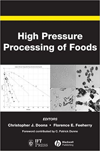 High Pressure Processing of Foods, 1st Edition