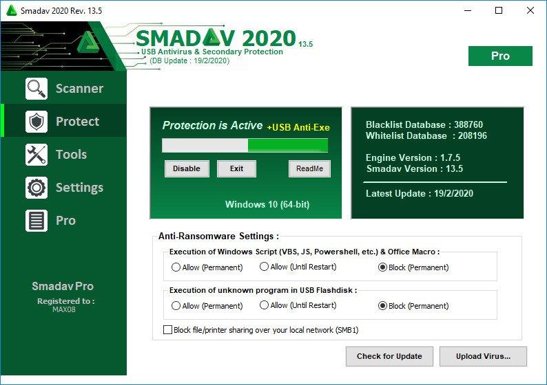 Smadav Pro 2020 13.5.0