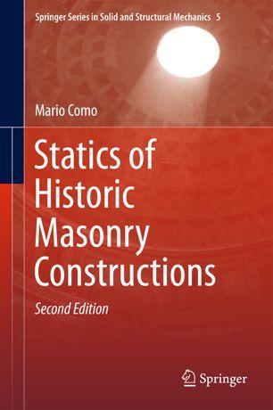 Statics of Historic Masonry Constructions, Second Edition (True EPUB)