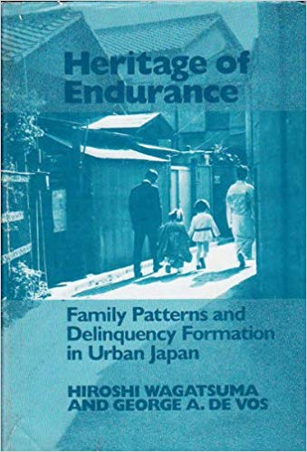Heritage of Endurance: Family Patterns and Delinquency Formation in Urban Japan