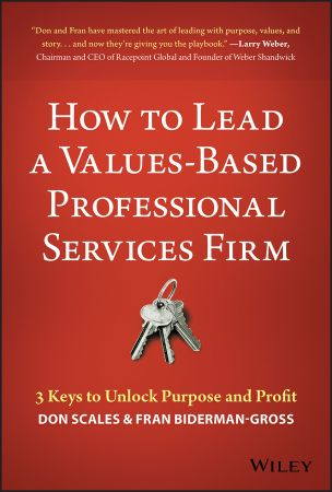 How to Lead a Values Based Professional Services Firm: 3 Keys to Unlock Purpose and Profit