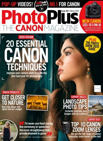 PhotoPlus: The Canon Magazine - Issue 162, March 2020