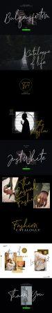 Bulqeusfertom Signature Font