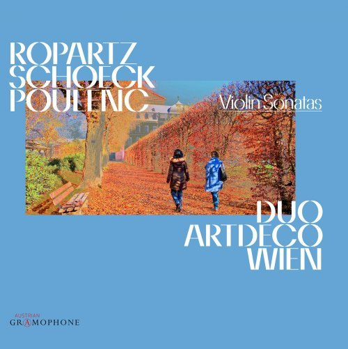 Kvetinas Duo 2 Pictures Free Download: Ropartz, Schoeck & Poulenc