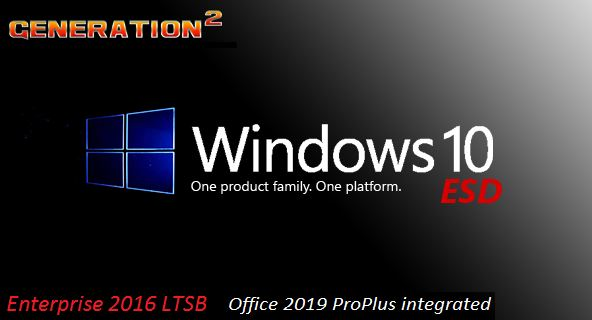Windows 10 Enterprise 2016 LTSB v1607 Build 14393.3564 integrated March 2020