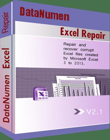 DataNumen Excel Repair 2.8.0.0