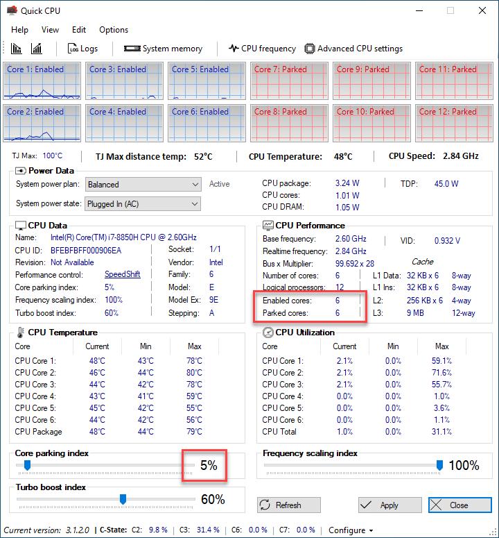 Quick CPU 3.1.4.0