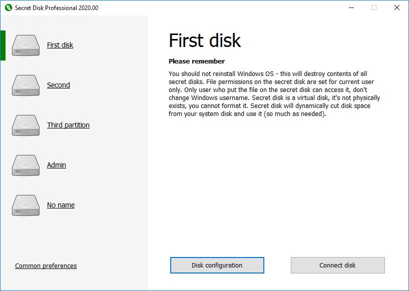 Secret Disk Profesisonal 2020.00 Multilingual