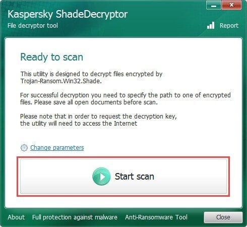 Kaspersky ShadeDecryptor 1.2.0.0