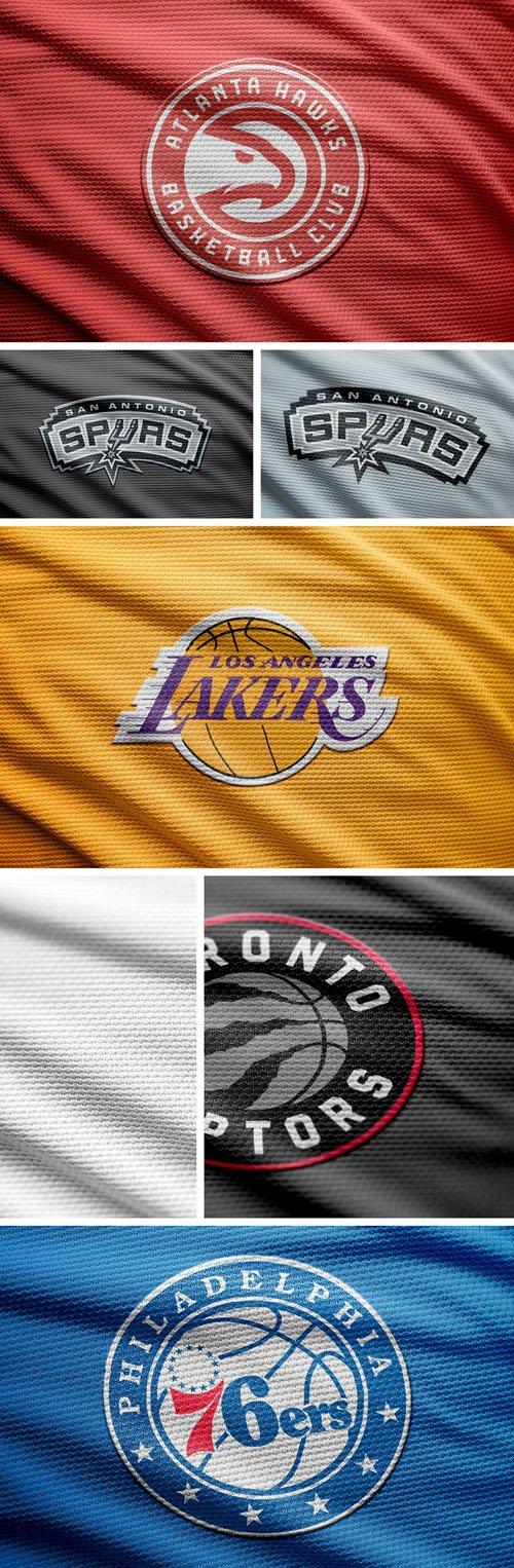 Basketball Logo PSD Mockups
