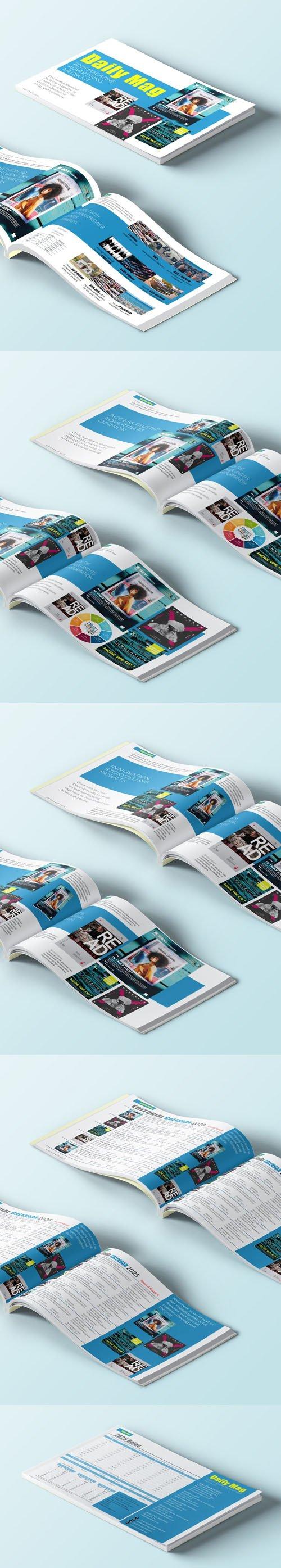 Magazine Advertising Media Kit Templates