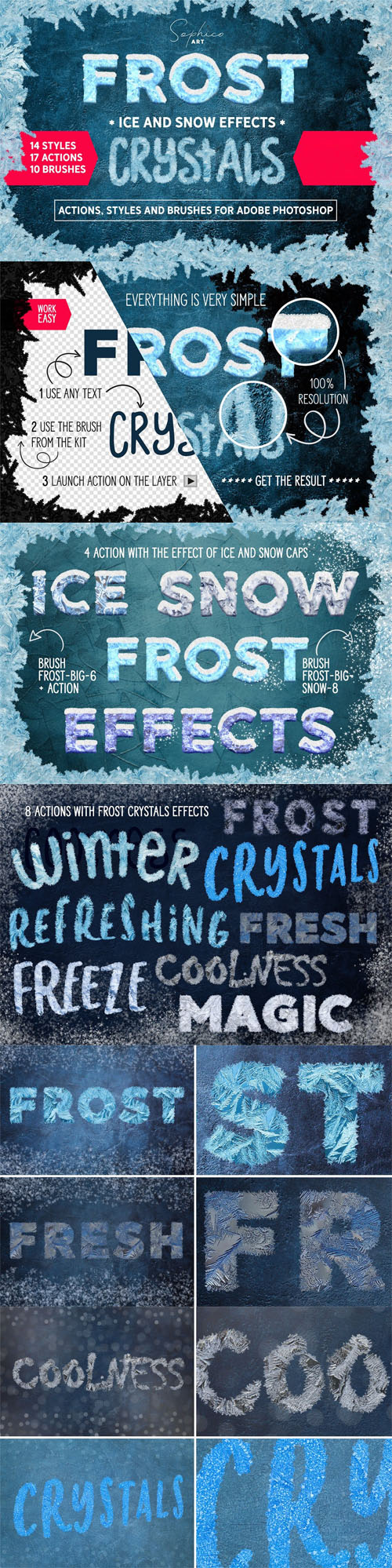 Frost Styles - Ice & Snow Effects for Adobe Photoshop