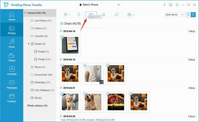 FoneDog Phone Transfer 1.0.10