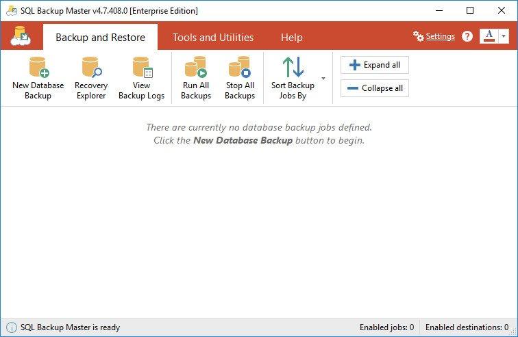 SQL Backup Master Enterprise 4.7.408