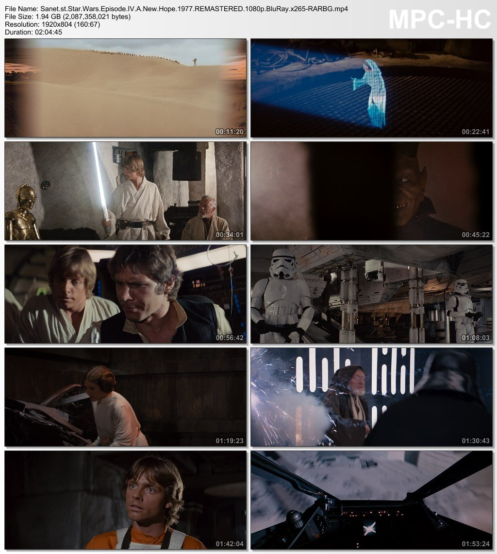 Download Star Wars Episode Iv A New Hope 1977 Remastered 1080p Bluray X265 Rarbg Softarchive