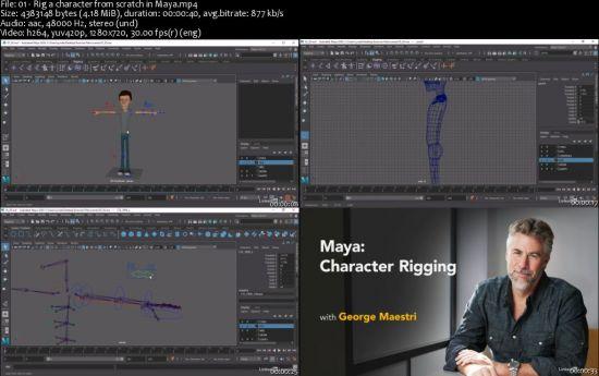 Maya: Character Rigging