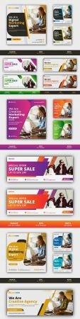 Business Enterprise Brochure and Horizontal Flyer Template
