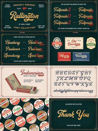 Rallington Font Collection 4605581