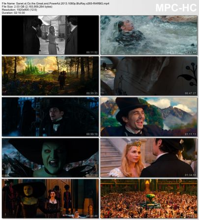 Download Oz the Great and Powerful 2013 1080p BluRay x265 ... Oz The Great And Powerful Cast Members