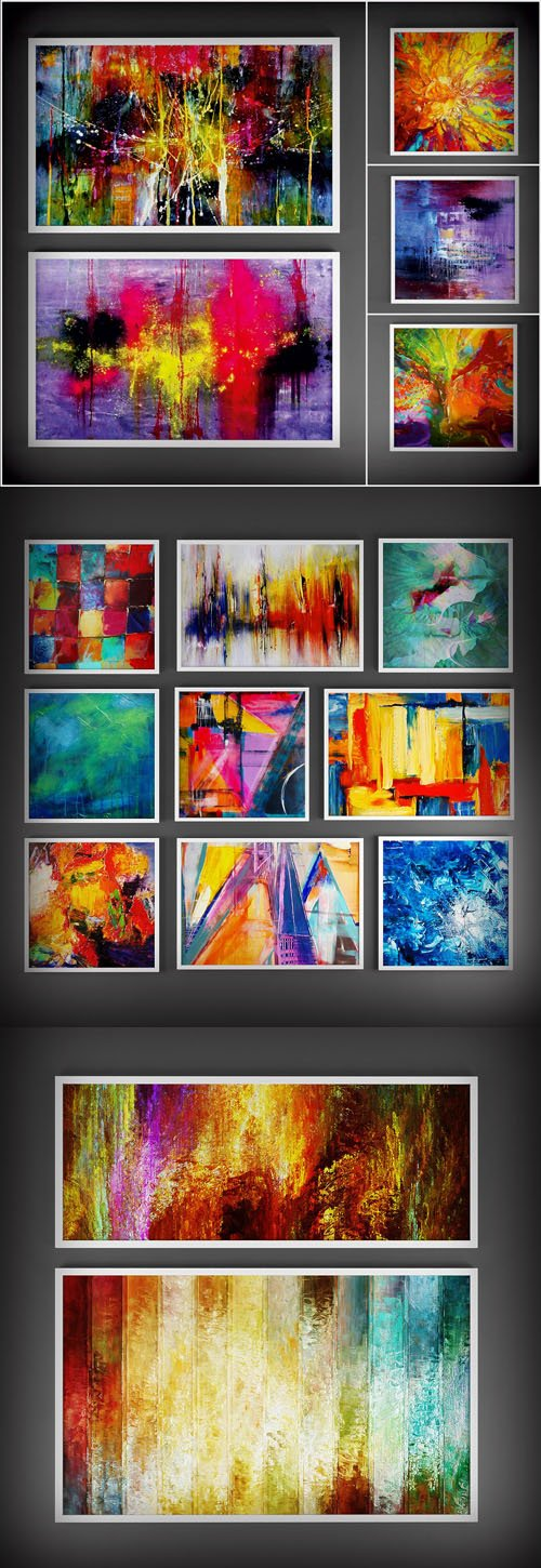 Collection of Paintings - Abstraction 2