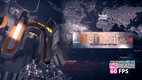 Videohive News Ident V3 26041023 - After Effects Project Files