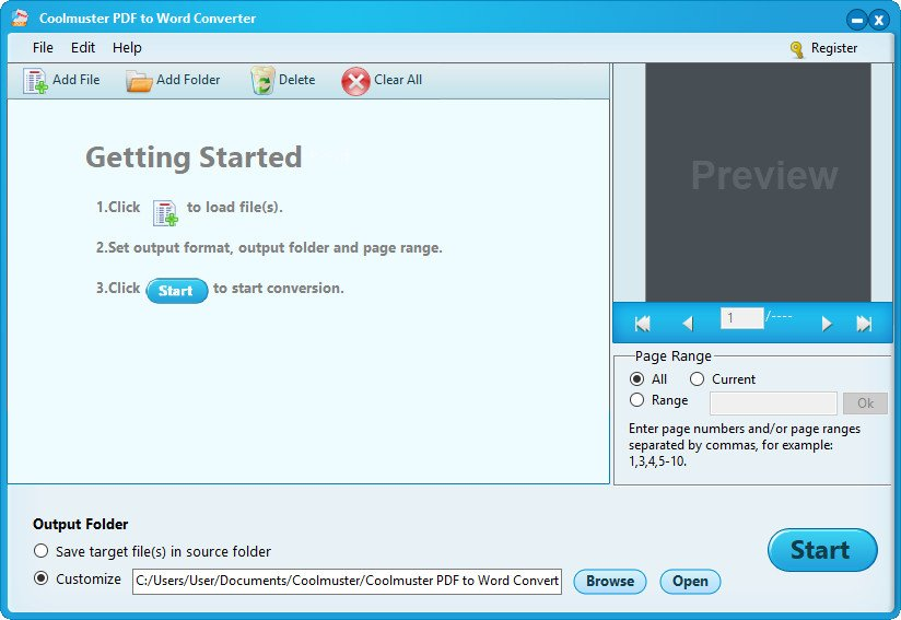 Coolmuster PDF to Word Converter 2.1.10 Multilingüe