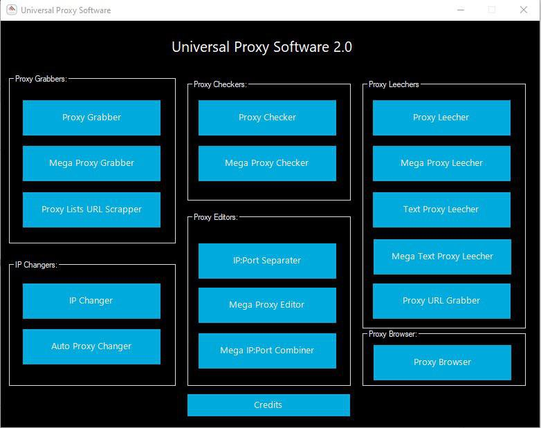 Universal Proxy Software 2.0 [herramientas dedicadas al Proxy] [Ingles] [UL.IO] D4CwCROPJfNxeiLzBER1D8aQ6QOkldgj