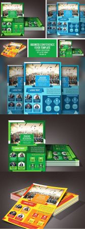 CreativeMarket   Business Conference Flyer 4629081