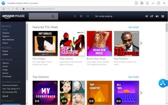TuneBoto Amazon Music Converter 1.1.0