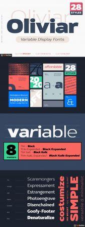 Creativemarket   Oliviar Sans   Variable Fonts 4979200